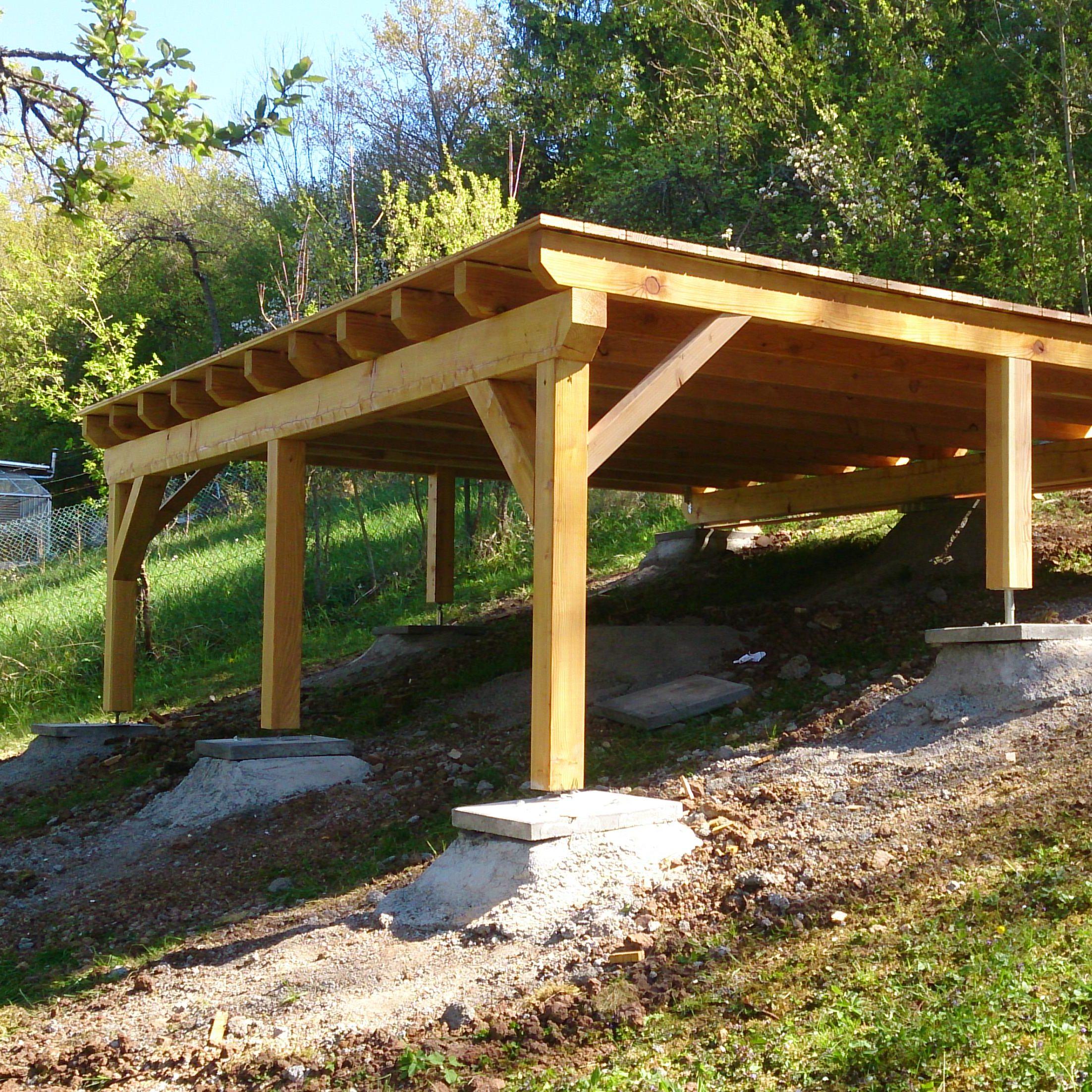 Anbau Aussenbereich Die Holzverbindung
